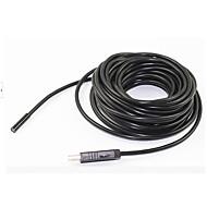 billige Overvåkningskameraer-5m 7mm linse 6led endoskop IP67 usb borescope tube kamera slange