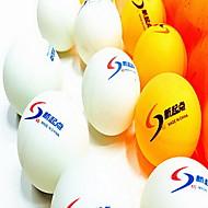 144pcs 3 hvězdičky Ping Pang/Stolní tenisový míček plast Nízký odpor větru Velká síla Vysoká pružnost Odolné
