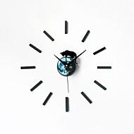 コンテンポラリー レトロ風 動物 休暇 抽象風 家族 友達 漫画 壁時計,円形 ノベルティ柄 アクリル メタル 60 屋内/屋外 クロック