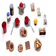 Muuttumisleikit Nuket Toy Kitchen Asettaa Toy Astiat ja tee setit Toy Foods Lelut Lelut Ruoka Lelut Uutuudet Pieces