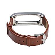 billiga Smart klocka Tillbehör-Klockarmband för Mi Band 2 Xiaomi Milanesisk loop Metall Läder Handledsrem