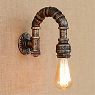 baratos Arandelas de Parede-Rústico / Campestre Luminárias de parede Metal Luz de parede 110-120V / 220-240V 40W / E27