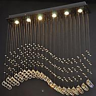 رخيصةأون -6-الضوء كريستال أضواء معلقة ضوء سفل مطلي معدن كريستال, LED 110-120V / 220-240V أبيض دافئ / أبيض بارد يشمل لمبات / GU10