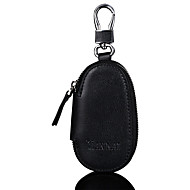 Men Bags Cowhide Coin Purse for Shopping Casual Sports Office & Career Outdoor All Seasons Black