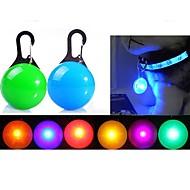 Koira LED-turvallisuusvalot LED valot Sisältää akut Yhtenäinen Punainen Vihreä Sininen Pinkki Läpinäkyvä