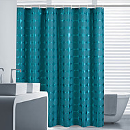 cheap Shower Curtains-Shower Curtains Neoclassical Polyester Polka Dot Machine Made