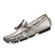 Kényelmes-Lapos-Női cipő-Félcipők-Alkalmi-PU-Fekete Piros Fehér Arany