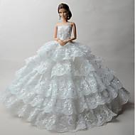 Bryllup Kjoler Til Barbiedukke Kjoler Til Pigens Dukke Legetøj