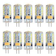 5W G4 Żarówki LED bi-pin T 57 SMD 3014 300 lm Ciepła biel Zimna biel Ściemniana AC 12 V 10 sztuk