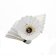 12 × 2 배드민턴 깃털 셔틀콕 튼튼한 안정성 용 실내 야외 성능 프랙티스 레저 스포츠 오리 깃털