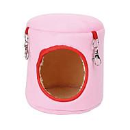 billige TIlbehør til smådyr-Gnavere Hamster Bomuld Senge Blå Lys pink