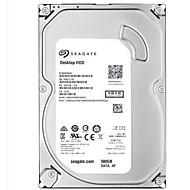 Seagate 500GB デスクトップハードディスクドライブ 回転数7200rpm SATA 3.0(6Gb /秒) 16メガバイト キャッシュ 3.5インチ-ST500DM002