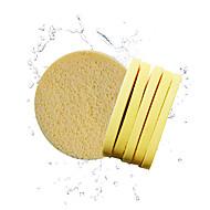 billiga Sminktillbehör-Bomullspad för Ögonfrans Puderpuff Smink Naturliga Svampar Ellips Ansikte Kosmetisk Skötselprodukter
