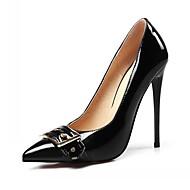 baratos Sapatos Femininos-Mulheres Sapatos Sintético / Courino / Couro Ecológico Primavera / Verão Conforto / Inovador Saltos Caminhada Salto Agulha Dedo Apontado