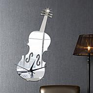 Muzyka Moda Kształty Naklejki Naklejki ścienne: lustro Dekoracyjne naklejki ścienne Naklejki z budzikiem,Winyl Materiał Dekoracja domowa