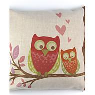 cheap Pillow Covers-1 pcs Linen Pillow Case Pillow Cover, Floral Animal Print Graphic Prints Still Life Textured Retro