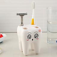 Zahnbürstenhalter Multi-Funktion Öko freundlich Lagerung Plastik Bad Caddies