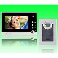 Χαμηλού Κόστους ACTOP-actop 7inch έγχρωμη οθόνη ενσύρματη βίντεο θυροτηλέφωνο για villasupport 1 με 2 μόνιτορ ZY-316210