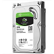 tanie Dyski twarde wewnętrzne-Seagate 2 TB Desktop Hard Disk Drive 7200rpm SATA 3.0 (6 Gb / s) 64 MB Pamięć podręcznaBarraCuda