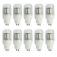 4W GU10 LED-kornpærer T 27 SMD 5730 280 lm Varm hvit Kjølig hvit Dekorativ V 10 stk.