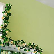 1 ブランチ プラスチック 籐製品 ウォールフラワー 人工花