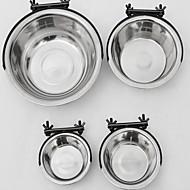 Koira Ruokinta-automaatit Lemmikit Kupit ja ruokinta Vedenkestävä Hopea Stainless Steel