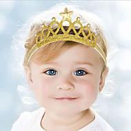 Kid's Cute Baby  Knitting Turban  Star Crown Headbands