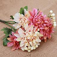 billige Kunstige blomster-1 gren silke tusenfryd bordplate blomst kunstige blomster hjemme dekorasjon