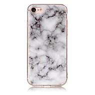 Käyttötarkoitus iPhone X iPhone 8 kotelot kuoret IMD Kuvio Takakuori Etui Marble Pehmeä TPU varten Apple iPhone X iPhone 8 Plus iPhone 8
