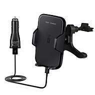 billiga Billaddare för mobilen-snabb bil trådlös laddare 10.8w snabbladdning luftutsläpp hållare till Samsung Galaxy s8 s8 kant s7 s7 kant s6 kant plus Not5 och all qi
