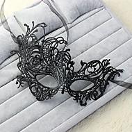 sexy vrouwen zwart kant maskerade halloween masker halloween prop cosplay accessoires