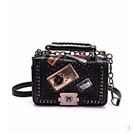 Women Bags PU Shoulder Bag for Casual Black