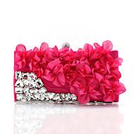 preiswerte 70%OFF-Damen Taschen Polyester Abendtasche Crystal / Strass Blume für Hochzeit Veranstaltung / Fest Normal Formal Winter Frühling Sommer Herbst