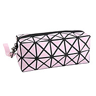 Cosmetic Bag Geometry Quadrate PU Cosmetic Beauty Care Makeup for Face