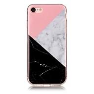 用途 iPhone X iPhone 8 ケース カバー IMD パターン バックカバー ケース マーブル ソフト TPU のために Apple iPhone X iPhone 8 Plus iPhone 8 iPhone 7プラス iPhone 7 iPhone 6s