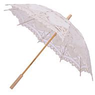 "billiga Brudparaplyer-Posthandtag Bröllop Dagligen Strand Paraply Paraplyer 30.7""(ca. 78cm)"