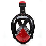 Şnorkel Maskesi Dalış Maskeleri Buğulanmaz 180 Derece Sızdırmaz Tam Yüz Maskeleri Dalış ve Şnorkel Neoprene için Çocukların Yetişkin