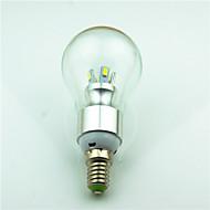 billige Globepærer med LED-1pc 3.5 W 350 lm E14 LED-globepærer 8 LED perler SMD 5730 Dekorativ Varm hvit 220 V / 85-265 V / 1 stk.