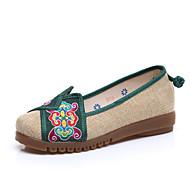 Dame-Lin-Flat hæl-Komfort-一脚蹬鞋、懒人鞋-Friluft Fritid-Rød Grønn Blå
