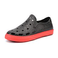 Χαμηλού Κόστους Παπούτσια Μεγαλύτερου Μεγέθους-Ανδρικά PU Καλοκαίρι τρύπα Παπούτσια Μοκασίνια & Ευκολόφορετα Παπούτσια Νερού Μαύρο / Γκρίζο / Μπλε
