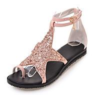 Para Meninas Sandálias Sapatos clube Inovador Gladiador Gliter Primavera Verão Outono Casual Social Sapatos clube Inovador Gladiador