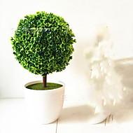 1 ブランチ プラスチック 植物 テーブルトップフラワー 人工花