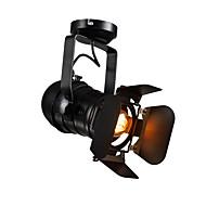 billige Spotlys-OYLYW Spotlys Nedlys - Mini Stil Justerbar, Rustikk / Hytte Vintage Retro Rød, 110-120V 220-240V Pære ikke Inkludert