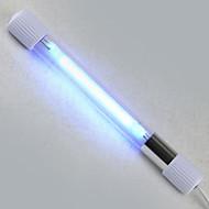 אקווריומים קישוט אקווריום כחול מחטא מנורת לד 220V