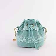 Women Bags All Seasons PU Shoulder Bag for Casual Pale Pink Light Gray Arm Green