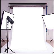 3X5FT Plain White Thin Vinyl Photography Backdrop Studio Prop Photo Background
