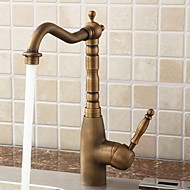 cheap Sprinkle® Faucets-Lightinthrbox  Sprinkle® Kitchen Faucets - Antique Polished Brass Centerset One Hole