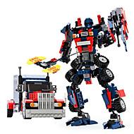 hesapli Robotlar, Canavarlar ve Uzay Oyuncakları-GUDI Robot / Oyuncak Arabalar / Legolar 377pcs Savaşçı / Makina / Robot transformable / Yaratıcı / Havalı Klasik & Zamansız / Zarif &