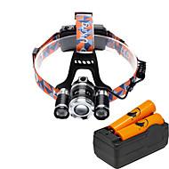 U'King ヘッドランプ ヘッドライト LED 4000 lm 12 4.0 モード Cree XP-G R5 Cree XM-L T6 焦点調整可 小型 ズーム可能 コンパクトデザイン ハイパワー のために キャンプ/ハイキング/ケイビング 日常使用 サイクリング 狩猟
