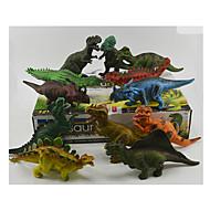 Action - Figuren & Plüschtiere Vorführmodell Model & Building Toy Spielzeuge Neuartige Dinosaurier Plastik Regenbogen